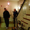 Other visitors in the Eisnehower house