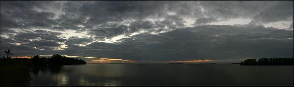 Panorama: Sunrise at Flamingo