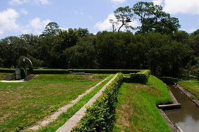Fort Caroline National Monument, Florida, in July 2010.