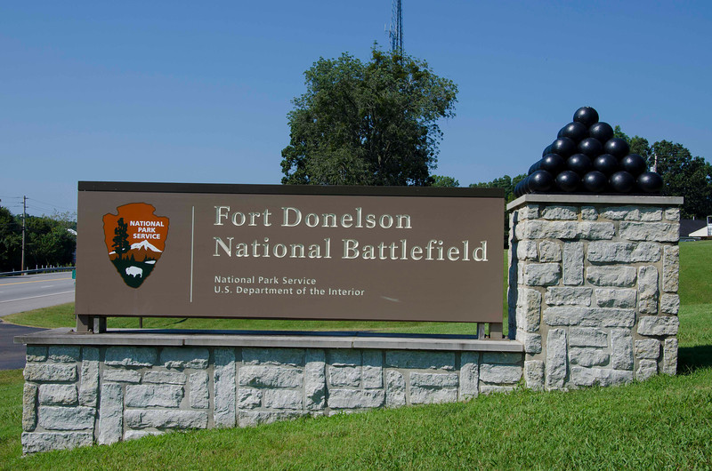 Fort Donelson National Battlefield entrance