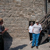 The ranger provides some history behind Fort Matanzas.