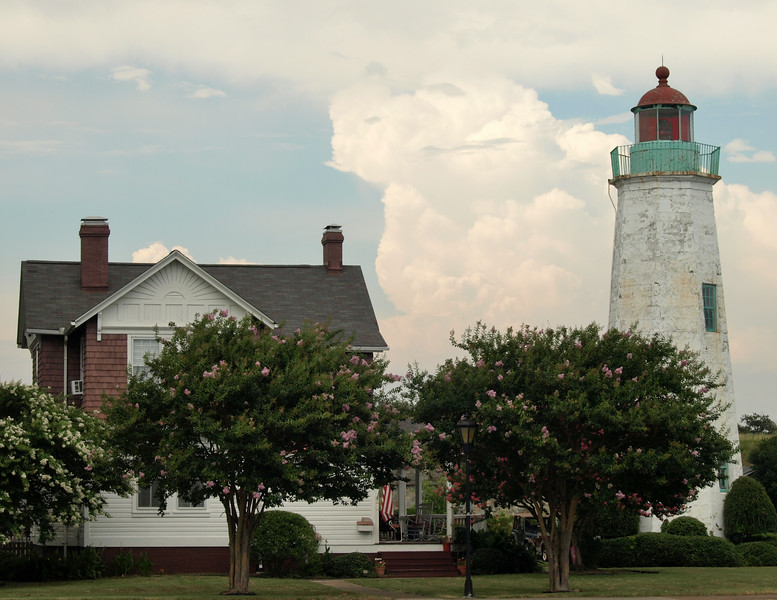 Lighthouse Among the Cumulonimbus