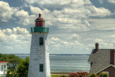 The Old Point Comfort Light at Fort Monroe National Monument in Hampton, VA on Wednesday, August 19, 2015. Copyright 2015 Jason Barnette  After proudly serving 188 years as a coastal fortification, in 2011 Fort Monroe opened as the newest national monument. Today the 325 acre fort is open to the public for exporation including the Casement Museum, streets, and a few buildings.