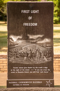 Freedmen's Colony Monument