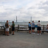 Folks waiting for the boat