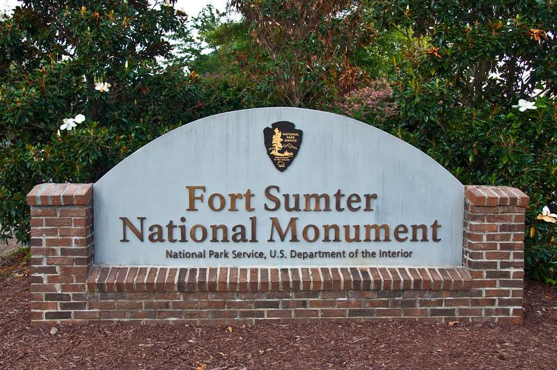 Fort Sumter National Monument entrance