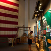 Inside the visitors center