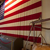 Flag in the visitors center