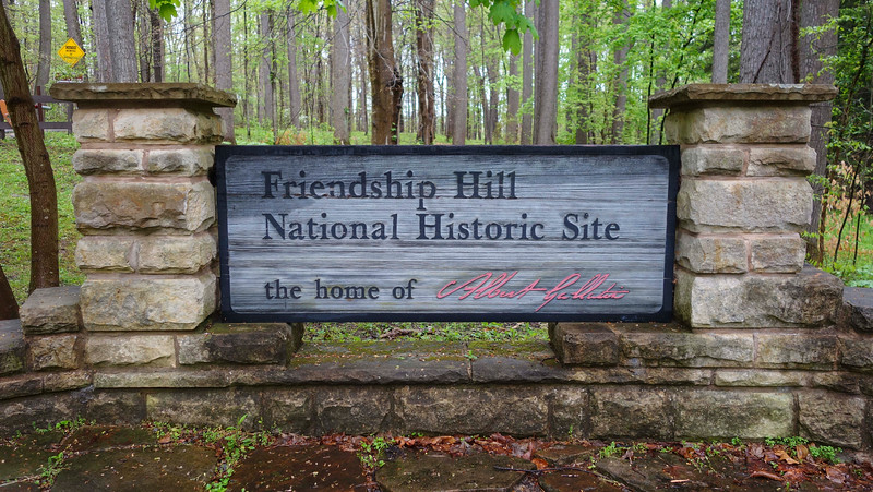 Friendship Hill National Historic Site entrance