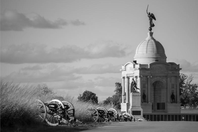 Cannon with the Pennsylvania & Minnesota