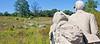 Cyclist at Gettysburg National Military Park, Pennsylvania-M3-0676 - 72 ppi