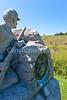 Cyclist at Gettysburg National Military Park, Pennsylvania-M3-0669 - 72 ppi