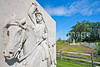 Cyclist at Gettysburg National Military Park, Pennsylvania-M3-0620 - 72 ppi