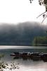 McDonald Lake in the Morning Fog