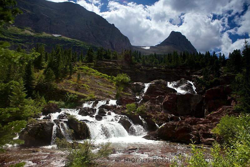 Redrock Falls, Glacier National Park