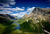 Glacier National Park Epic Landscape