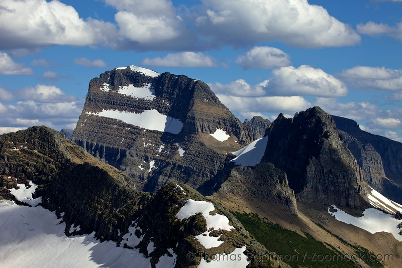 Mount Gould, North Edge
