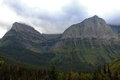 Glacier Park mountains