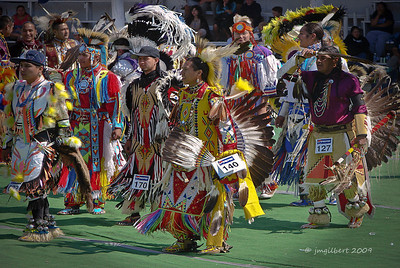 We were invited to a Blackfeet Pow-Wow on the eastern side of Glacier National Park.  This was an intertribal event honoring a fallen Blackfoot soldier in Iraq. Sony DSC-H2; SV-1/500, AV-f/4, ISO-80, FL-33.1mm.