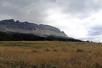 Eastern end of Glacier Natl Park