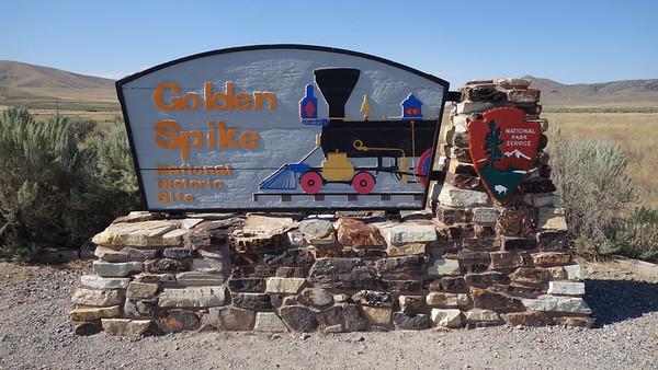 Golden Spike National Historic Site - UT - 082515