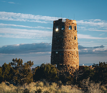 Watchtower Sunlight