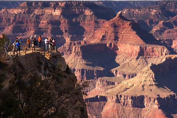 Grand Canyon at the Yavapai Point Overlook