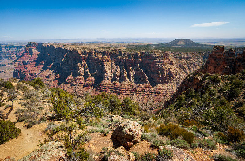 Cliffs and Butte at Grand Canyon National Park