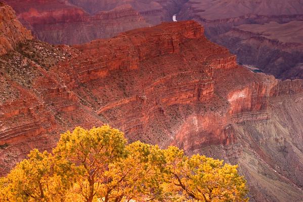 Grand Canyon, Hopi Point At Sunset