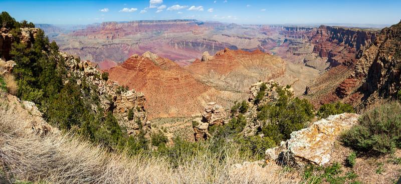 Panaramic View of Grand Canyon National Park
