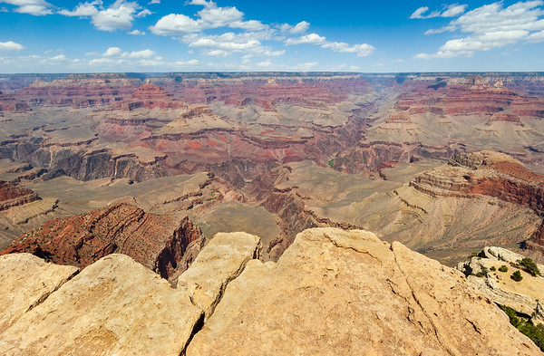 Wide View of Grand Canyon National Park