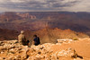 Couple at the Grand Canyon at Desert view