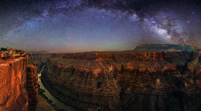 Grand Canyon Milky Way