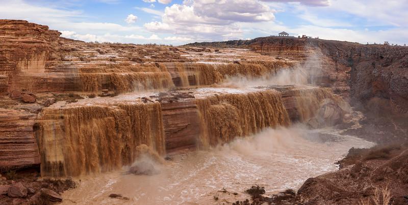 The Grand Falls of The Little Colorado River