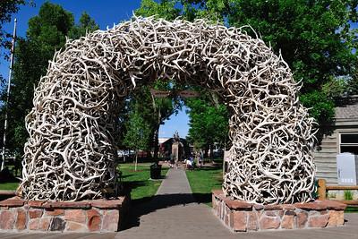 Jackson Hole antler art?
