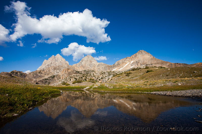Three Teton Reflection