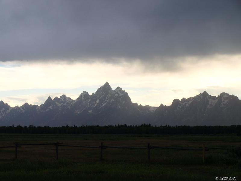 Mountains over Meadows
