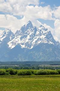 The Grand Teton peak