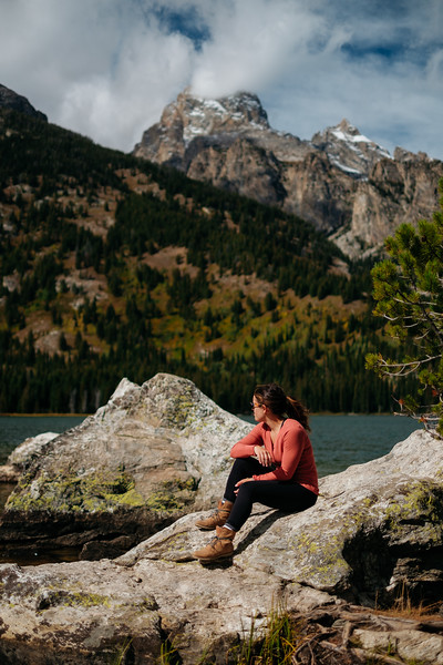 Taggart Lake Loop, Grand Teton National Park, Wyoming on September 24, 2019 by Michael Mroczek. Photographed with a Fujifilm X-Pro2 and XF35mmF1.4 R lens at 35 mm | ƒ / 1.4 | 1/8000 sec.