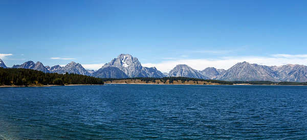 Tetons + Jackson Lake = Scenery Galore