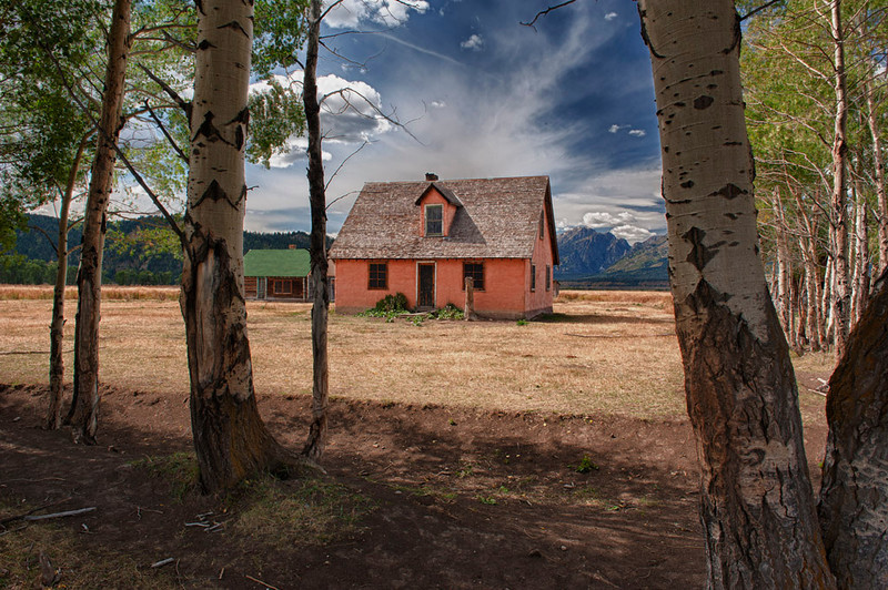 Mormon homestead.