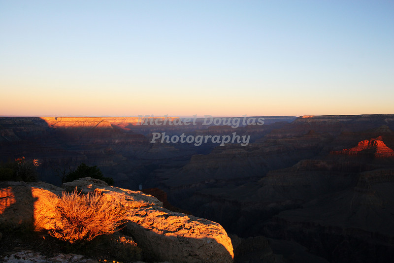 Sunrise at the Grand Canyon National Park, Arizona