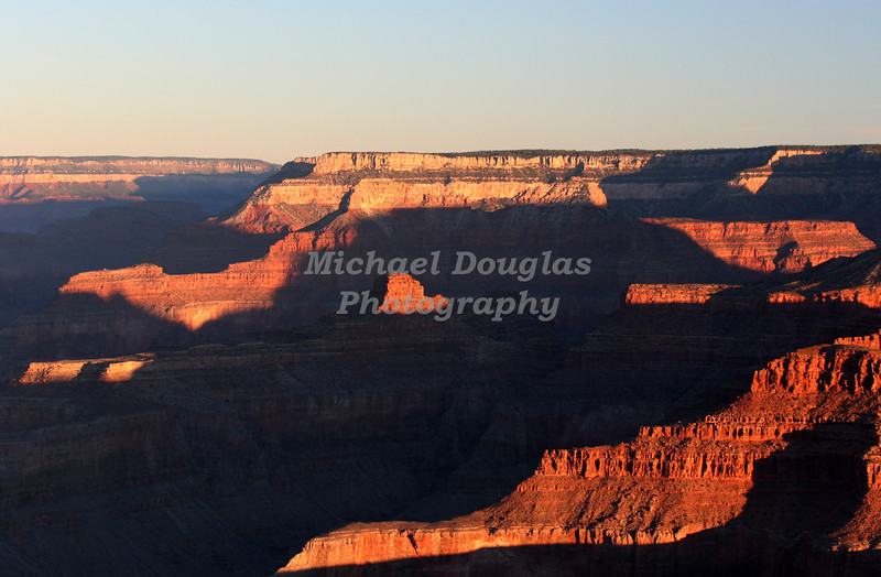 Sunrise at the Grand Canyon National Park, Arizona