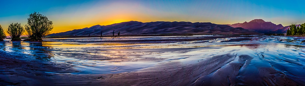 After Sunset @ Great Sand Dunes National Park, Co (06/18/2016)