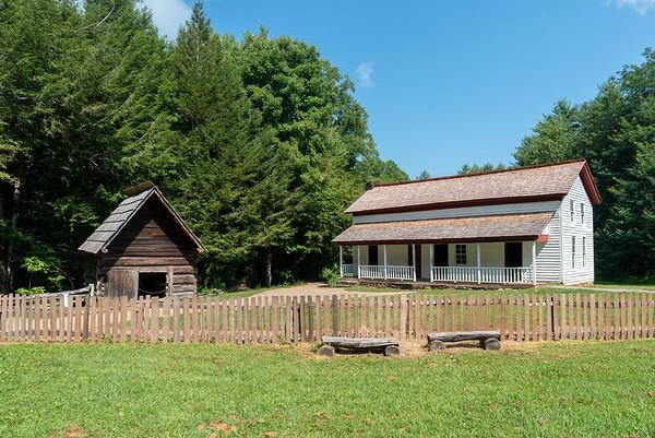 Gregg-Cable House & Smokehouse