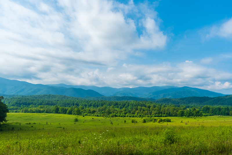 Cades Cove and the Mountains