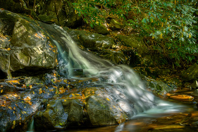 Laurel Falls at Great Smoky Mountains National Park