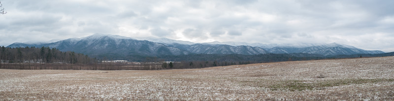 Great Smoky Mountains Panorama