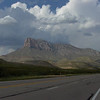 Guadalupe Mountains from the south