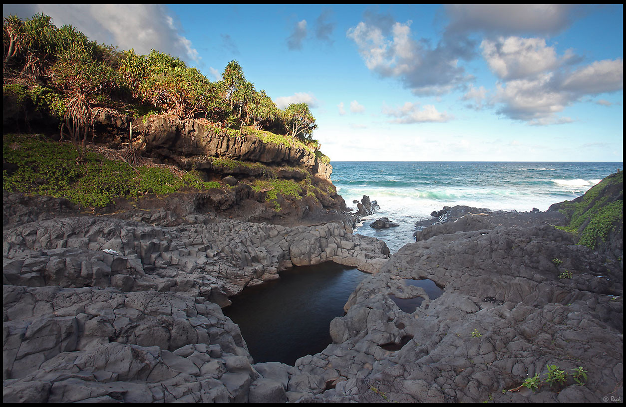 Seven Sacred Pools, Ohe o gorge, Haleakala National Park  Maui, Hawaii